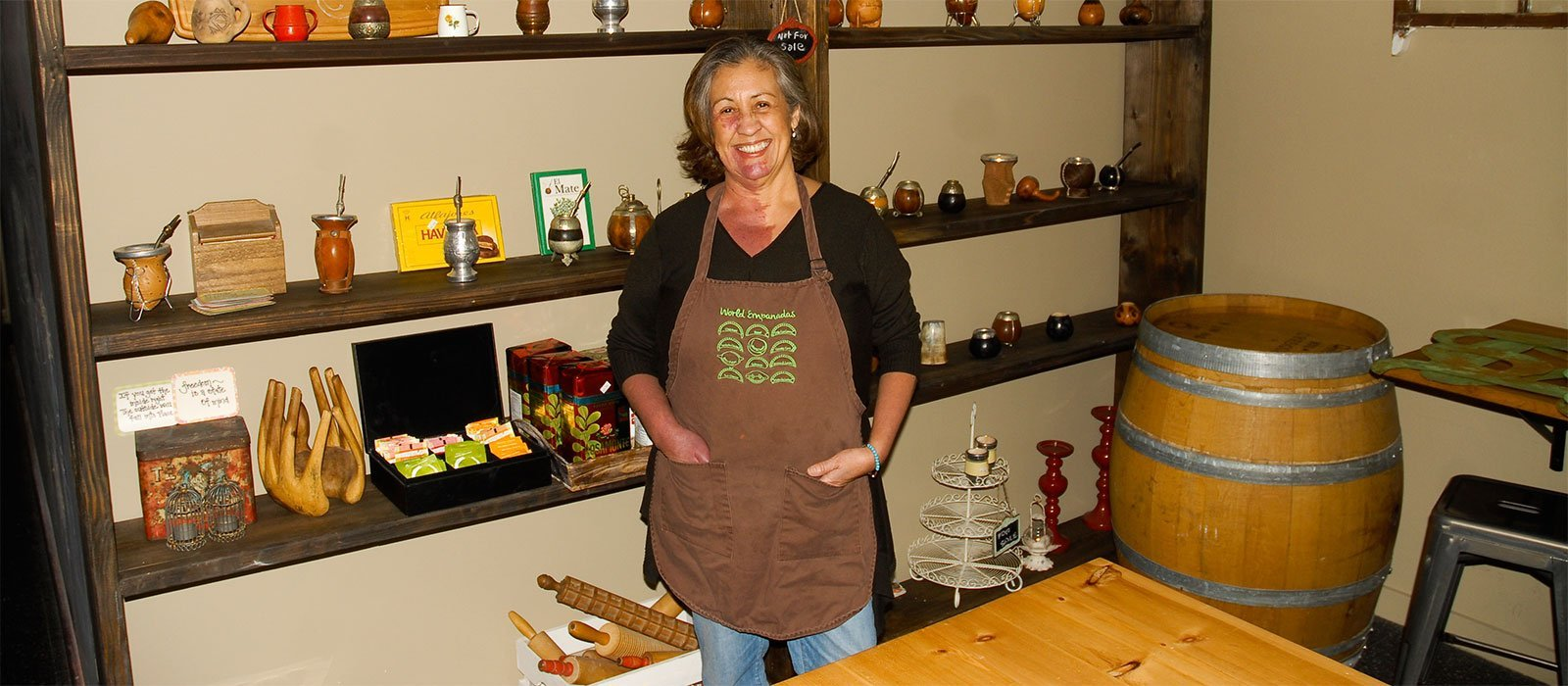 Lia Hirtz, Owner of World Empanadas