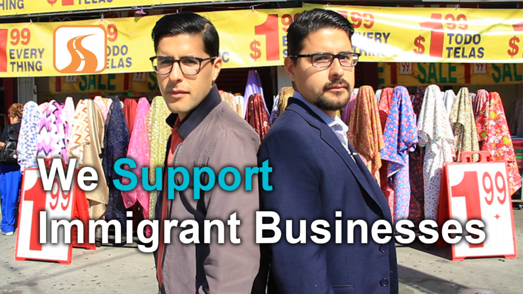 We Support Immigrant Businesses